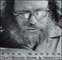 sten hanson - Text-sound gems & trinkets