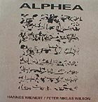 anthony braxton - Alphea