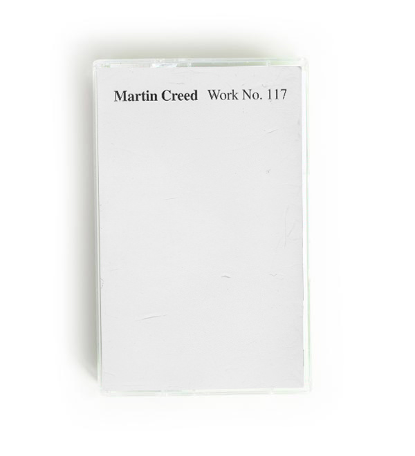 martin creed - Work n. 117