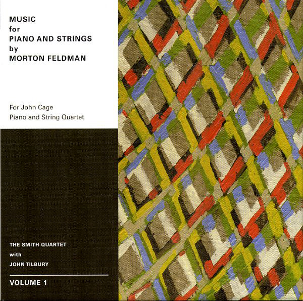 MUSIC FOR PIANO AND STRINGS BY MORTON FELDMAN. VOLUME 1