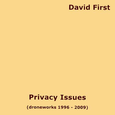 PRIVACY ISSUES (DRONEWORKS 1996 - 2009)
