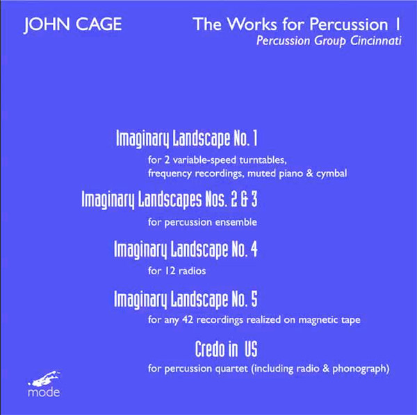 The works for percussion I
