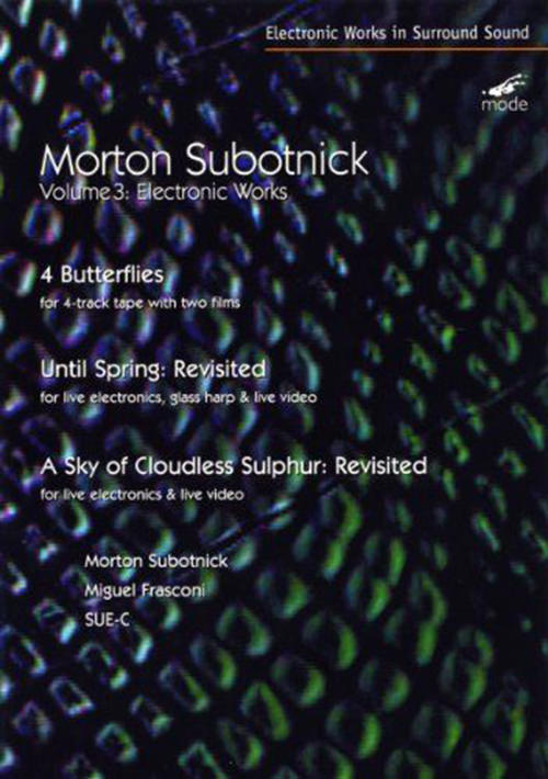 morton subotnick - Electronic Works 3