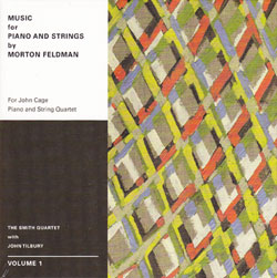 Music for piano and strings by Morton Feldman. Volume 2