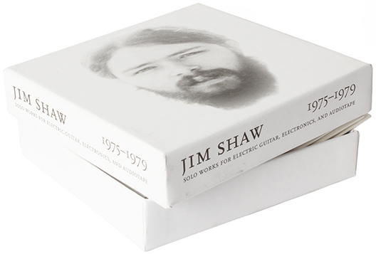 jim shaw - Solo Works For Electric Guitar, Electronics and Audiotape 1975-7
