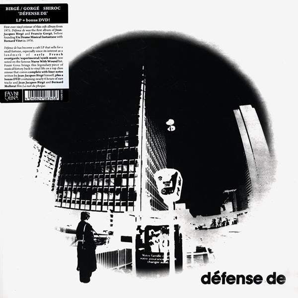 Defense de (Lp)