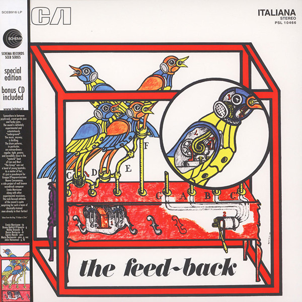 The Feed-Back (Lp + Cd)