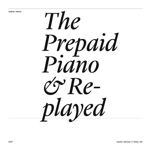 THE PREPAID PIANO & REPLAYED