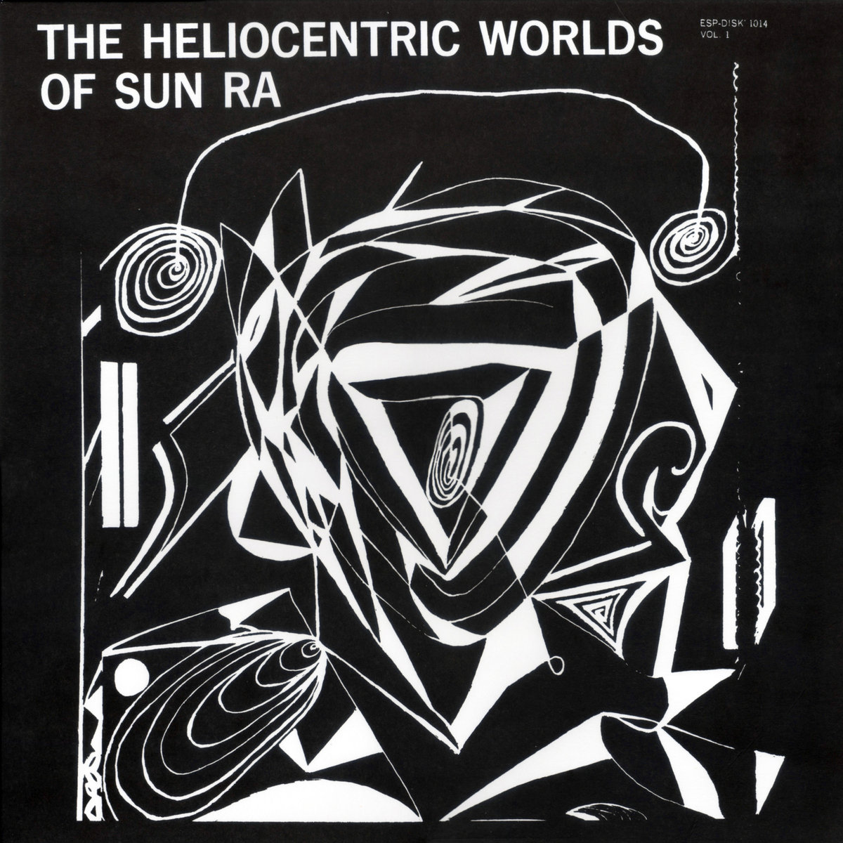 THE HELIOCENTRIC WORLDS OF SUN RA VOL.1 (LP)