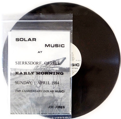 joe jones - Solar Music At Sierksdorf, Ostsee