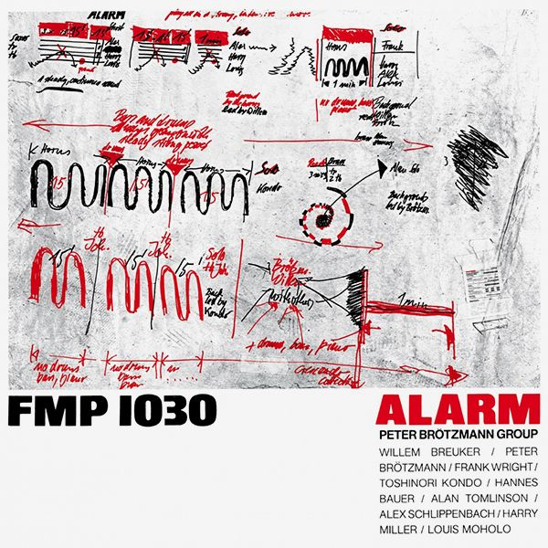peter brötzmann - Alarm (Lp)