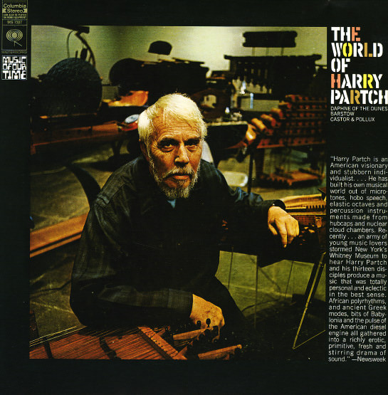 THE WORLD OF HARRY PARTCH (LP)