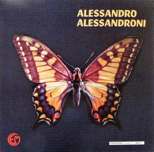 ALESSANDRO ALESSANDRONI  (BUTTERFLY 3, 1971-72)