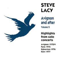 steve lacy - Avignon and after -  Volume 2