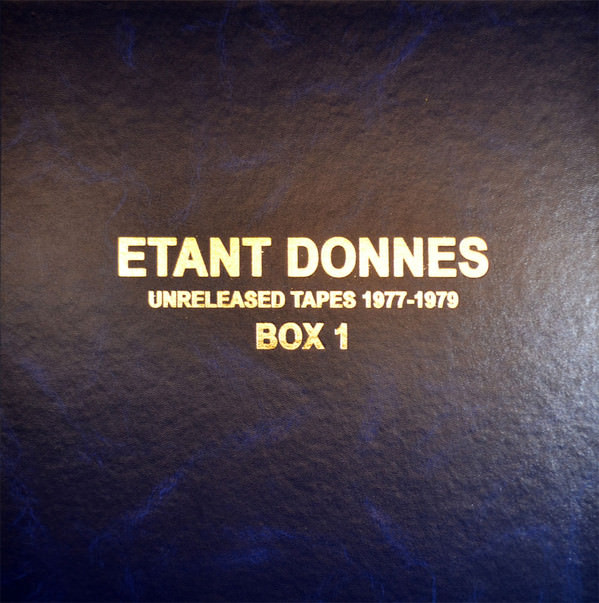 UNRELEASED TAPES 1977-1979 (3 LP BOX)