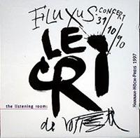 FLUXUS-CONCERT LE CRI 31/10/90
