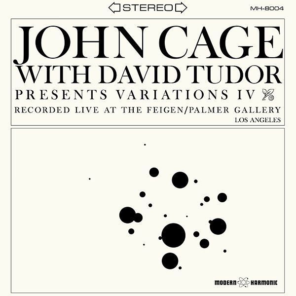 john cage - david tudor - Variations IV (LP)