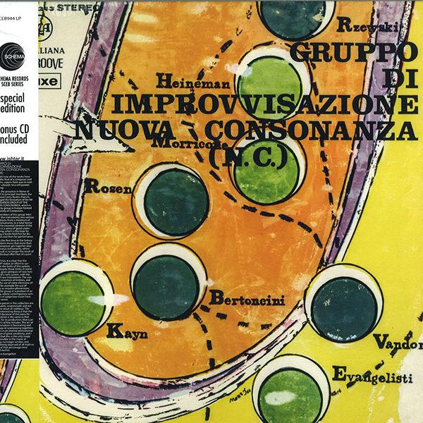 GRUPPO DI IMPROVVISAZIONE NUOVA CONSONANZA (LP+CD)