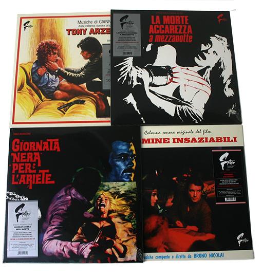 SPETTRO SOUNDTRACKS  LPS IN BUNDLE (BLACK VINYL)