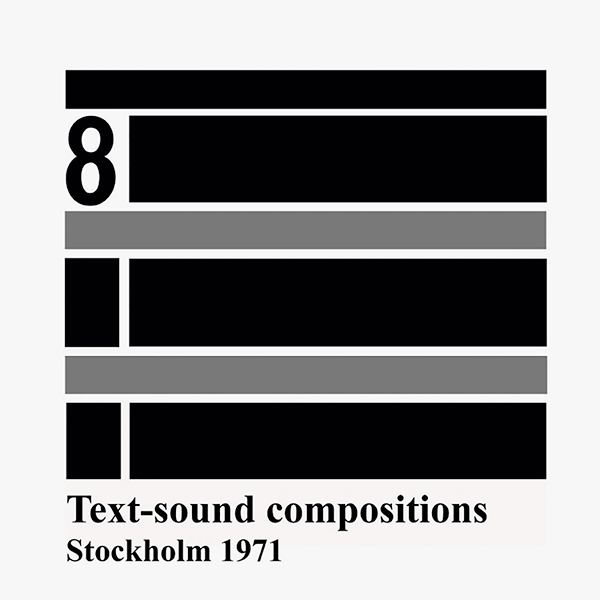 Text-sound compositions 8 (LP)