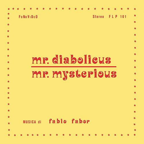 MR. DIABOLICUS - MR. MYSTERIOUS (LP+CD)