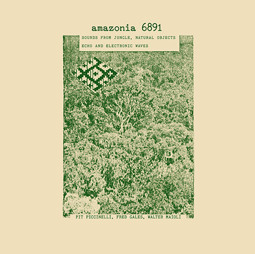 AMAZONIA 6891: SOUNDS FROM JUNGLE, NATURAL OBJECTS, ECHO ...