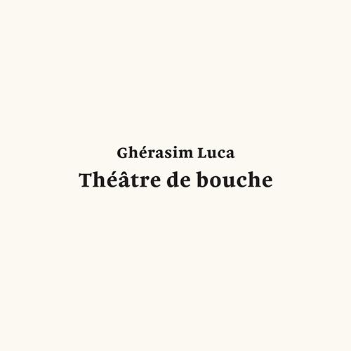THéâTRE DE BOUCHE (LP)