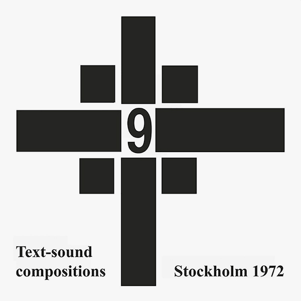 Text-sound compositions 9 (LP)