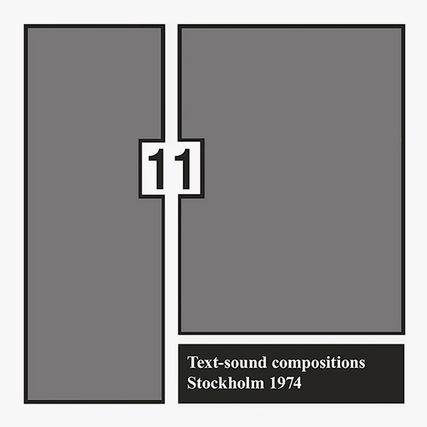 Text-sound compositions 11 (LP)