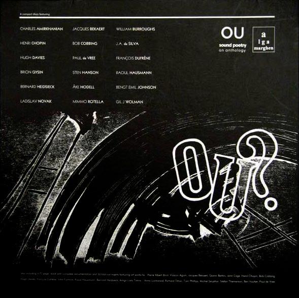 henri chopin - Revue OU (6xLp Box)