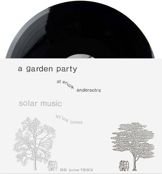 joe jones - A Garden Party (LP + Book)