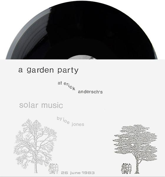 A GARDEN PARTY (LP + BOOK)