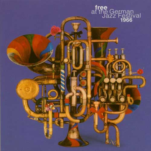 FREE AT THE GERMAN JAZZ FESTIVAL 1966