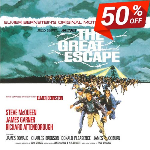 THE GREAT ESCAPE: ORIGINAL MOTION PICTURE SCORE