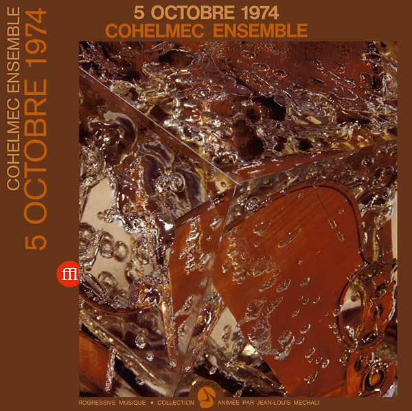 cohelmec ensemble - 5 Octobre 1974 (Lp)