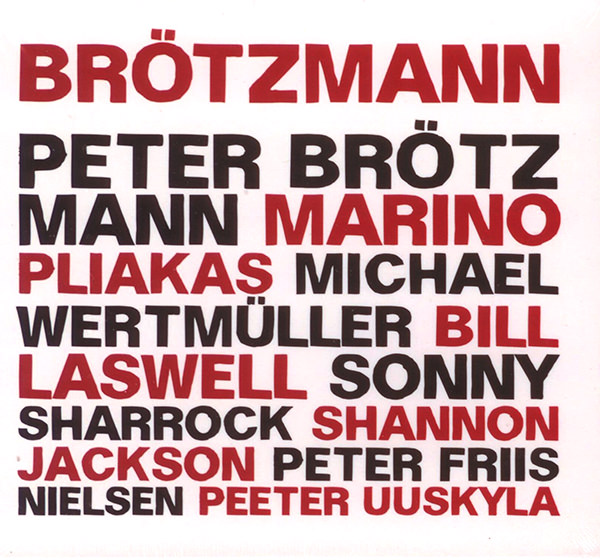 peter brötzmann - Brotzmann Box