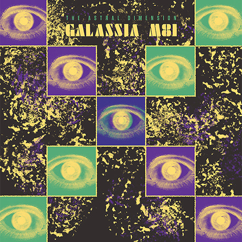 fabio fabor - astral sound dimension - Galassia M81 (Colored LP)