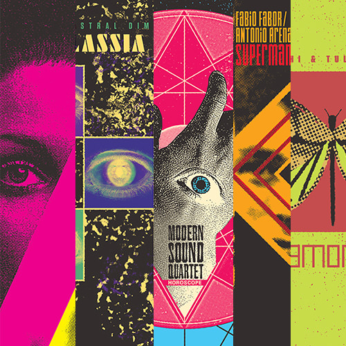 Spettro Library LPs bundle (Coloured Vinyl)