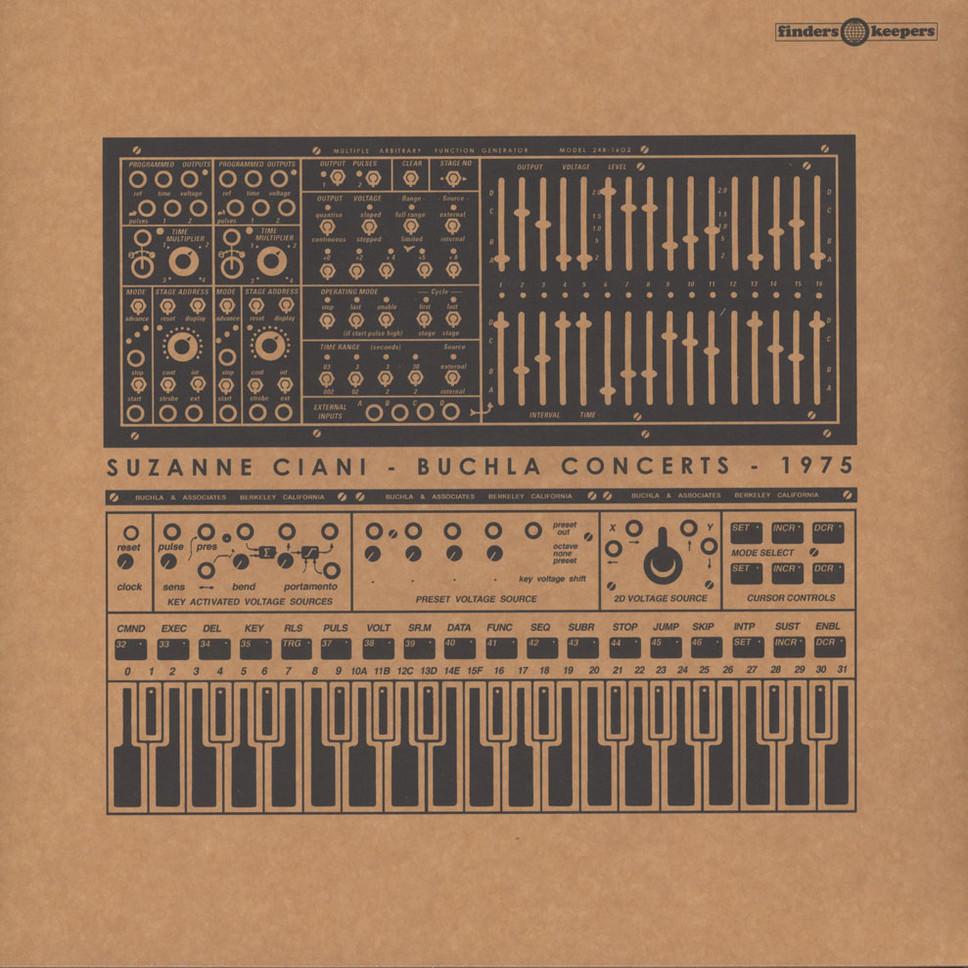 BUCHLA CONCERTS 1975 (LP)