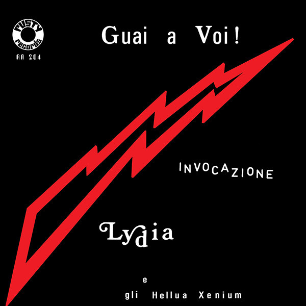 """GUAI A VOI! / INVOCAZIONE (7""""  + POSTER )"""