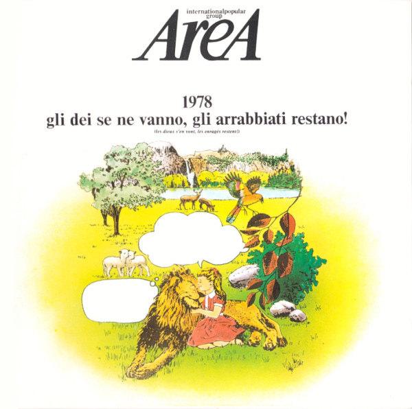 1978 GLI DEI SE NE VANNO, GLI ARRABBIATI RESTANO (LP)