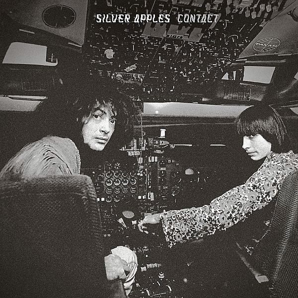 silver apples - Contact (Silver Gatefold Sleeve) (Silver and Black Vinyl)