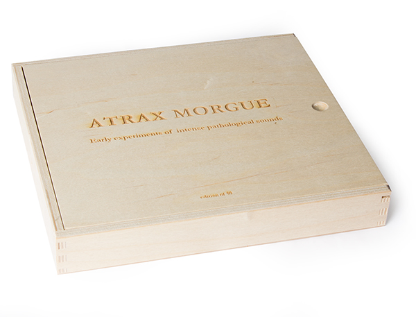 atrax morgue - Early Experiments of Intense Pathological Sounds (7 Tapes Box)