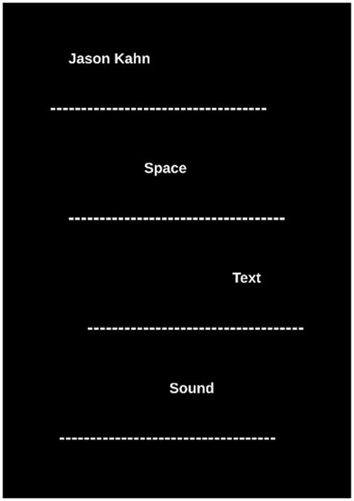 SPACE TEXT SOUND