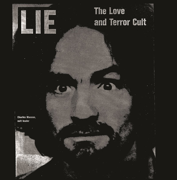 charles manson - Lie, The Love and Terror Cult (Lp)
