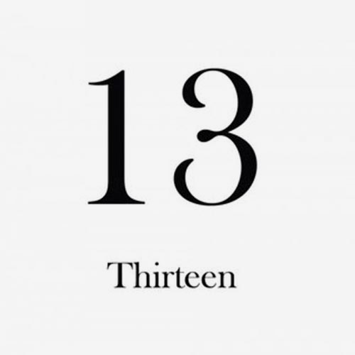 13 THIRTEEN (2CD)