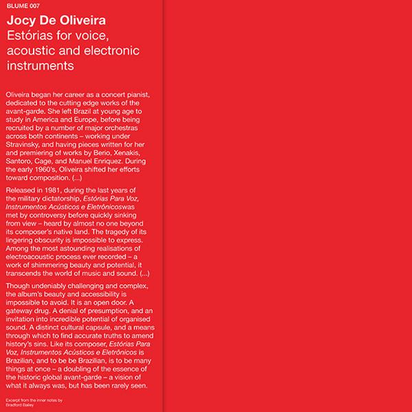 Estórias Para Voz, Instrumentos Acústicos e Eletrônicos (LP)