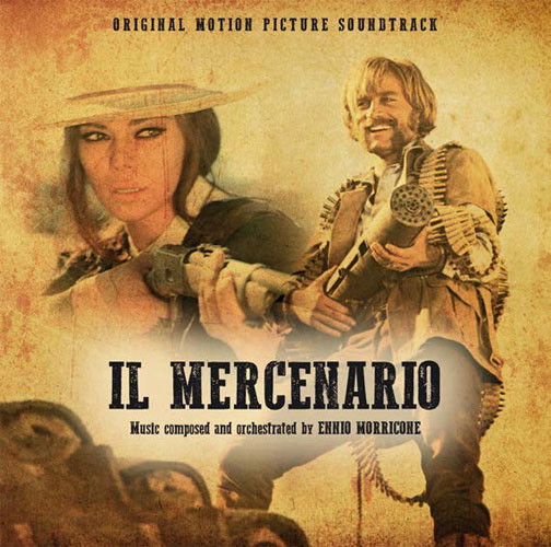 Il Mercenario (gold vinyl LP)