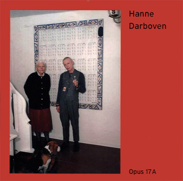 hanne darboven - Opus 17 A