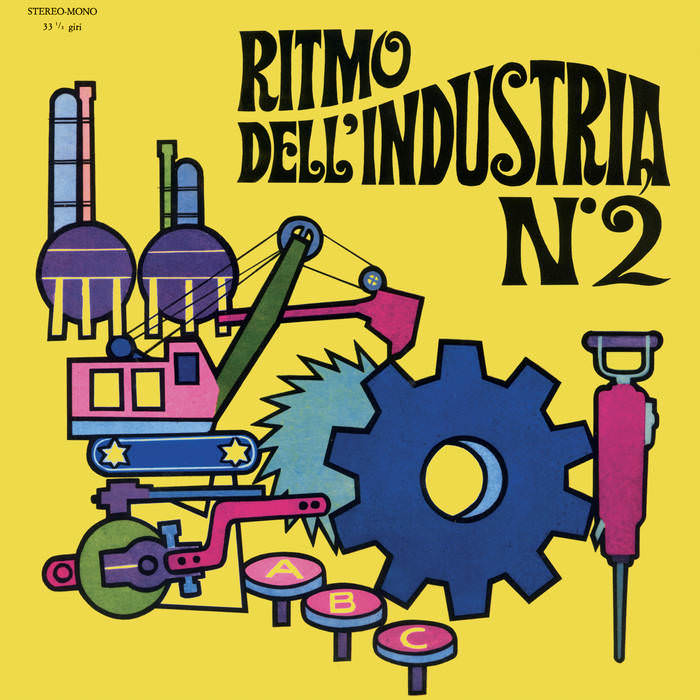 RITMO DELL'INDUSTRIA 2 (LP)